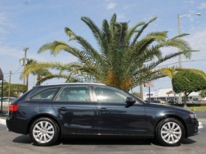 A great used car in West Palm Beach is the Audi A4 Wagon